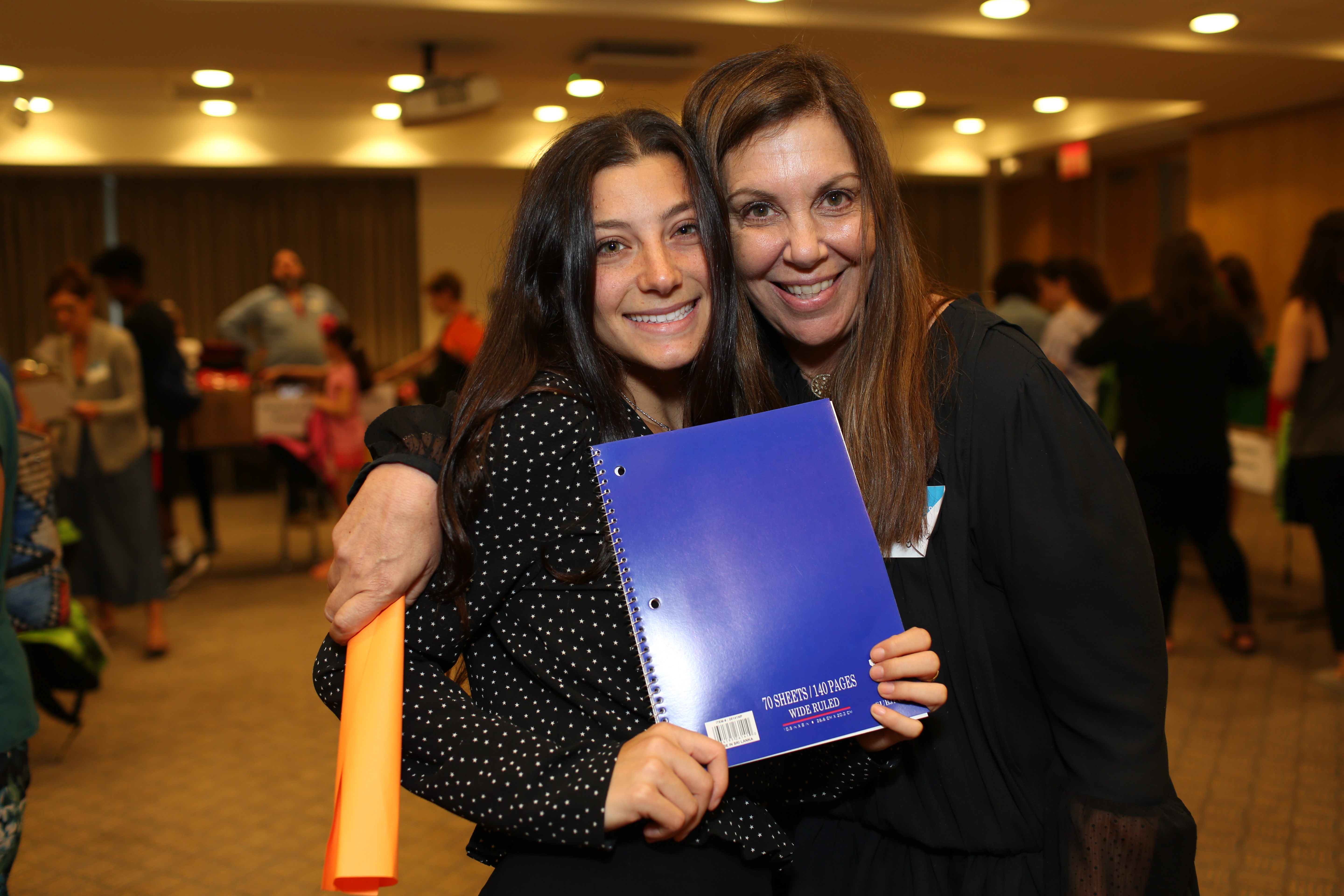 UJA Federation of New York >> <p>Jodie Elyachar (right) with UJA&rsquo;s Olivia Faden</p>